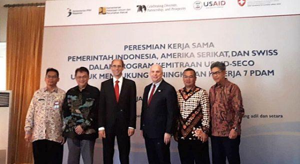 PDAM Tirta Asasta Terima Bantuan dari USAID – SECO
