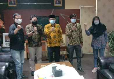 Audiensi Panpel HPN Sekber Wartawan Kota Depok Dengan Ketua DPRD Kota Depok